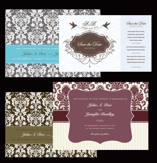 western-wedding-cards
