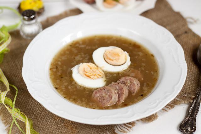jak ugotować zupę chrzanowa