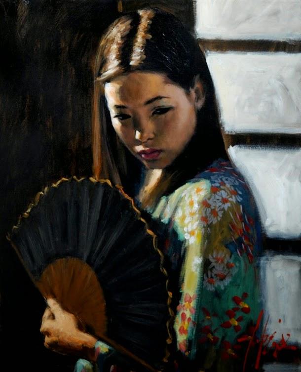 The Poet Of Painting Catherine La Rose Fabian PEREZ