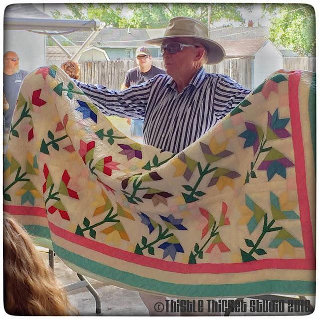 Thistle Thicket Studio, antique quilt, quilts, quilting