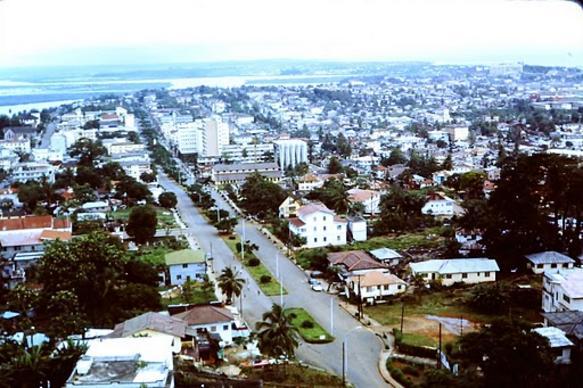 Monróvia, Capital da Libéria