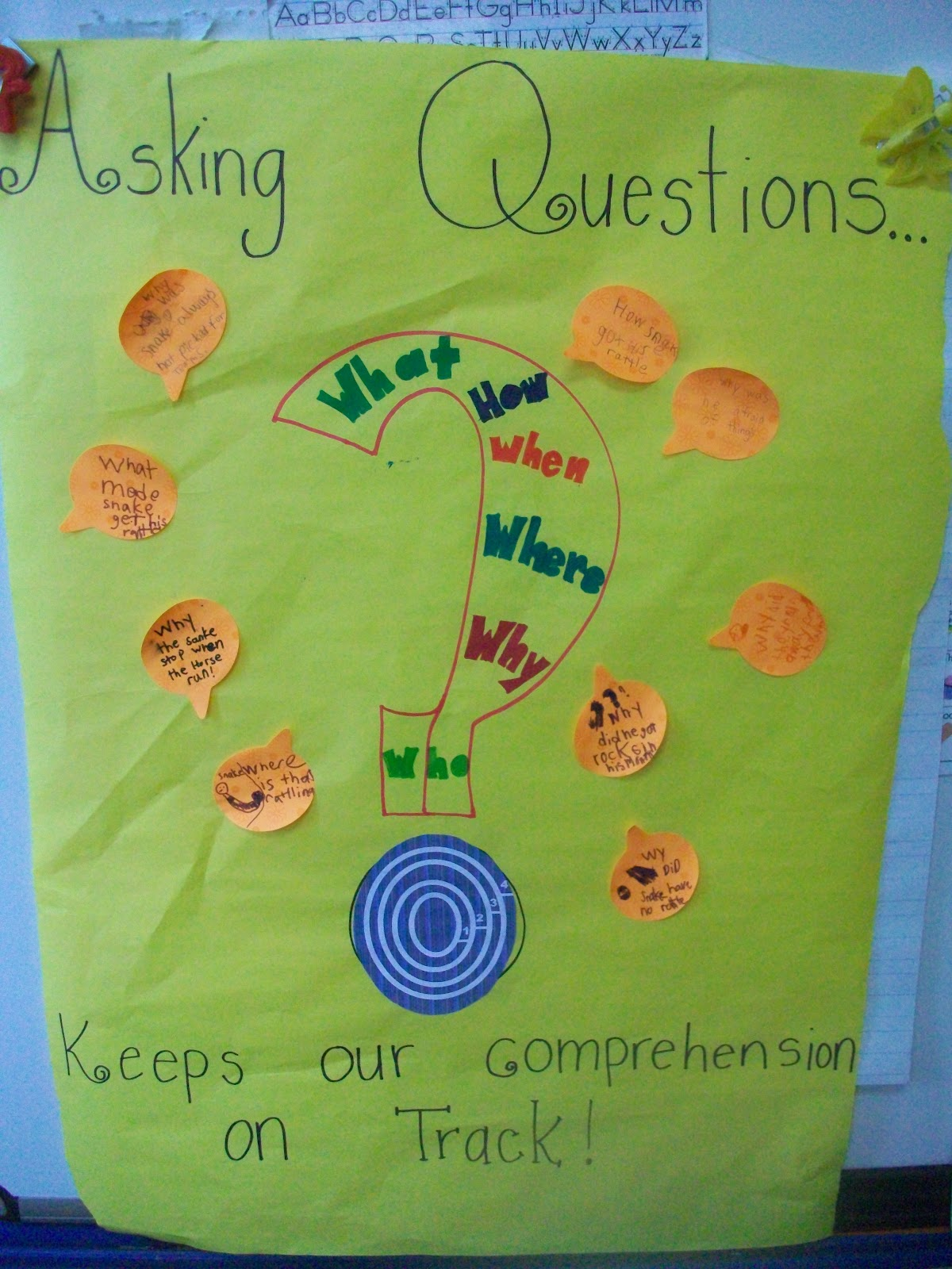 Sarah S First Grade Snippets Teaching Questioning As A Comprehension Strategy