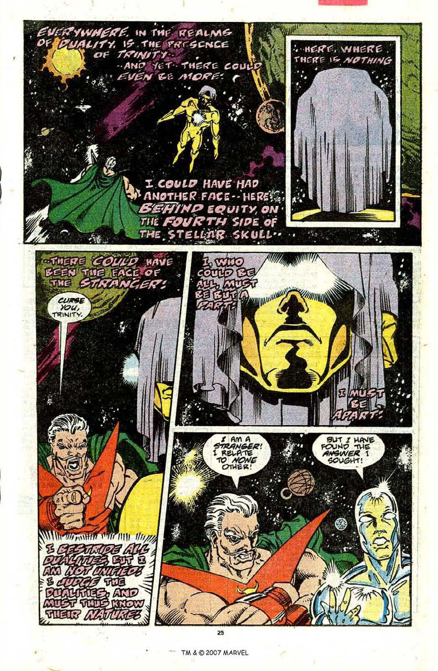 Read online Silver Surfer (1987) comic -  Issue #31 - 27