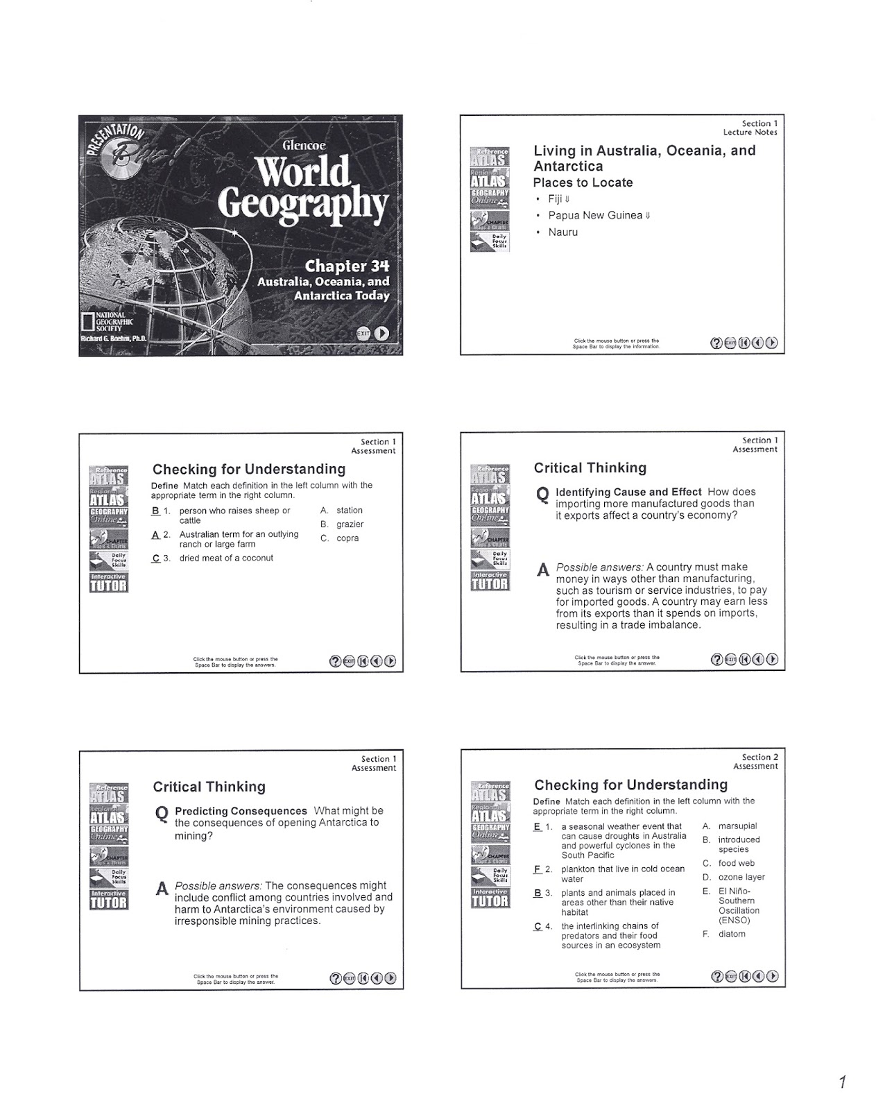 this post only shows the classwork sheet and chapter 34 powerpoint notes