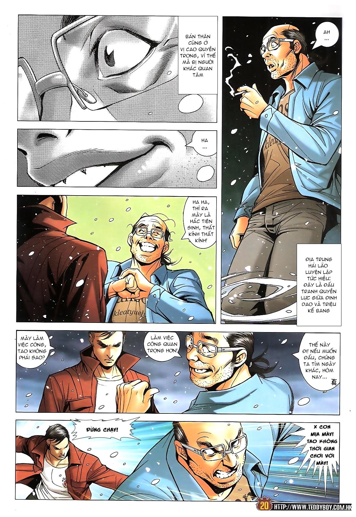 Người Trong Giang Hồ - Chapter 1613: Tuyết Địa Tranh Hùng - Pic 17