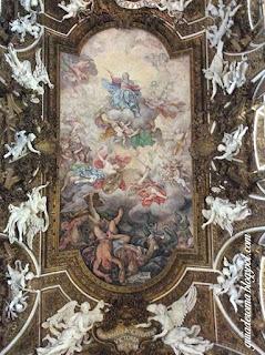 Afresco de Igreja Santa Maria della Vittoria