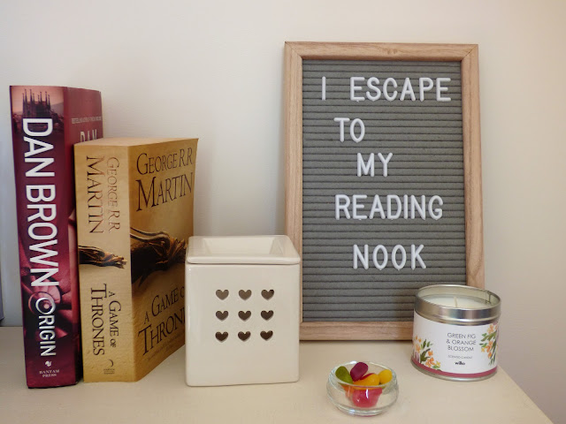 Reading Nook Essentials items