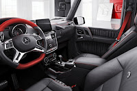 Mercedes-Benz G-Class Designo Manufaktur Edition (2017) Interior