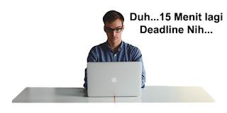 Pengalaman Pertama Mengerjakan Job Review Deadline 3 Jam