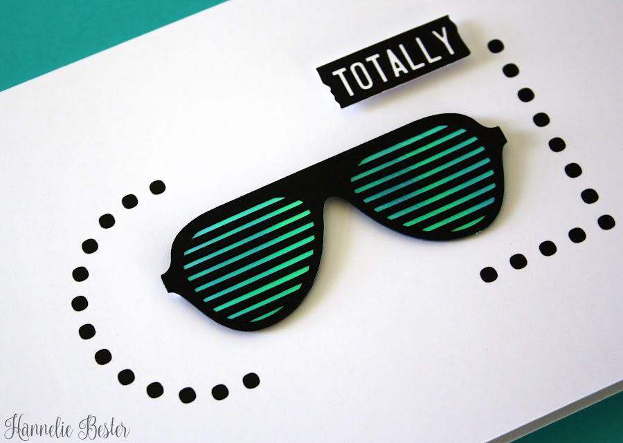 Totally cool sunglasses card