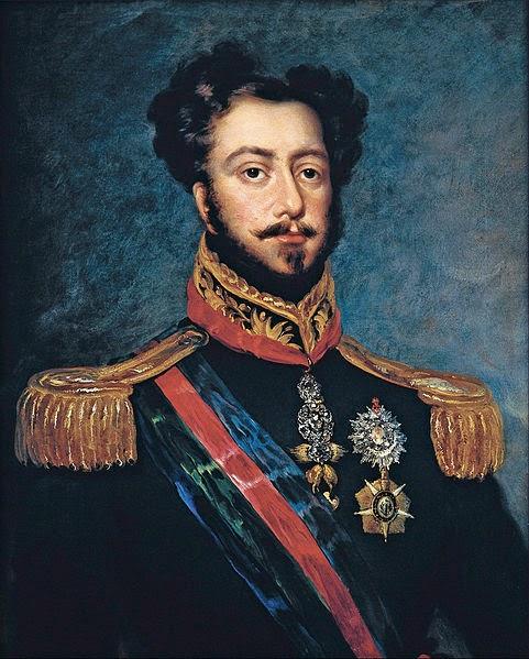 Pedro I of Brazil, 1834