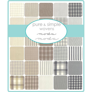 Moda Pure & Simple Wovens Fabric by Moda Fabrics