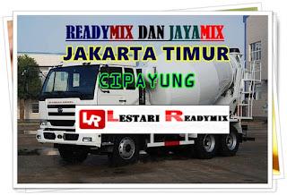 JUAL READYMIX DI CIPAYUNG | JAKARTA TIMUR