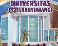 Info Pendaftaran Mahasiswa Baru ( UNIBA-BWI ) 2017-2018 Universitas PGRI Banyuwangi