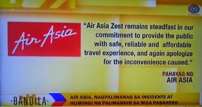 AirAsia's Passengers Complained Because of Aircon Malfunction