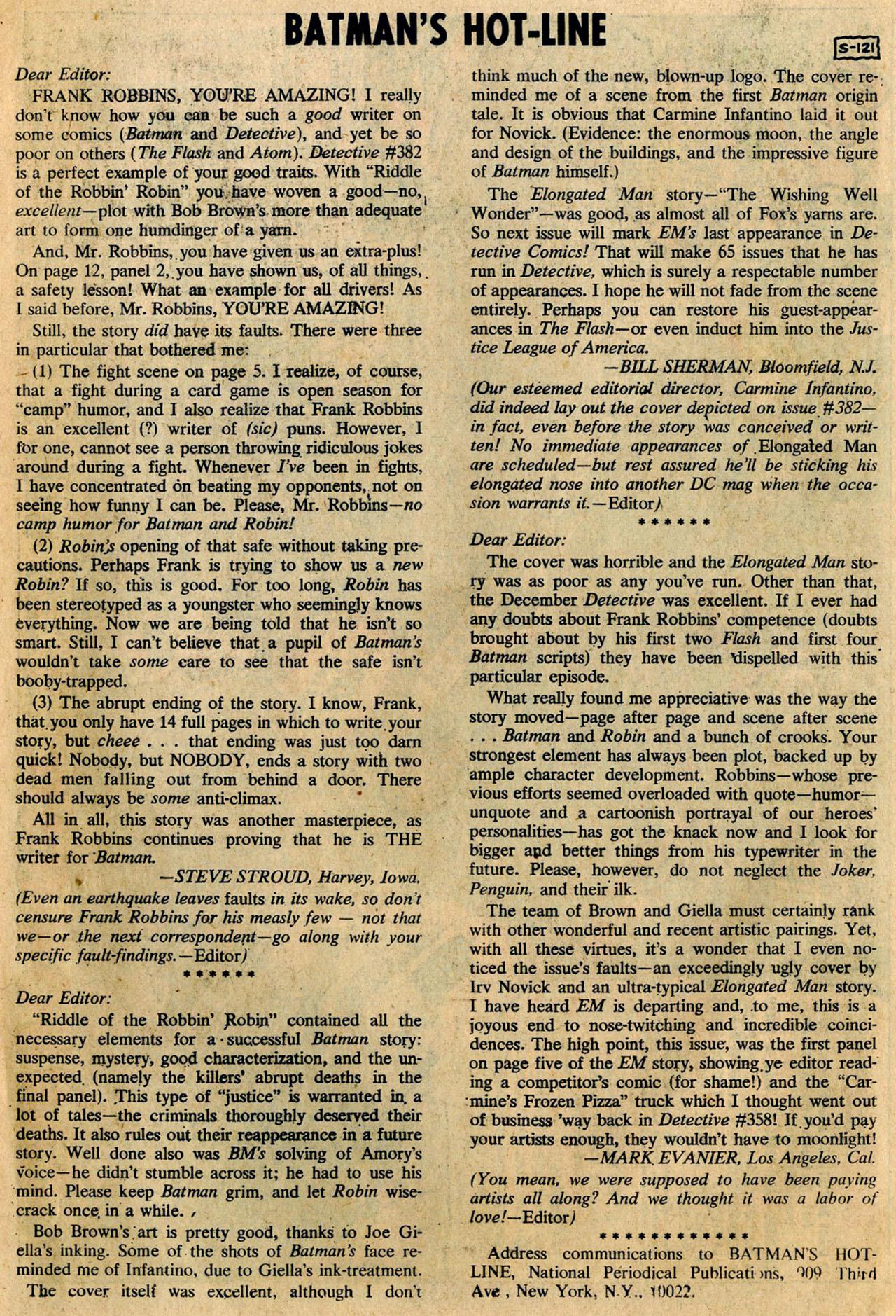 Detective Comics (1937) 386 Page 33