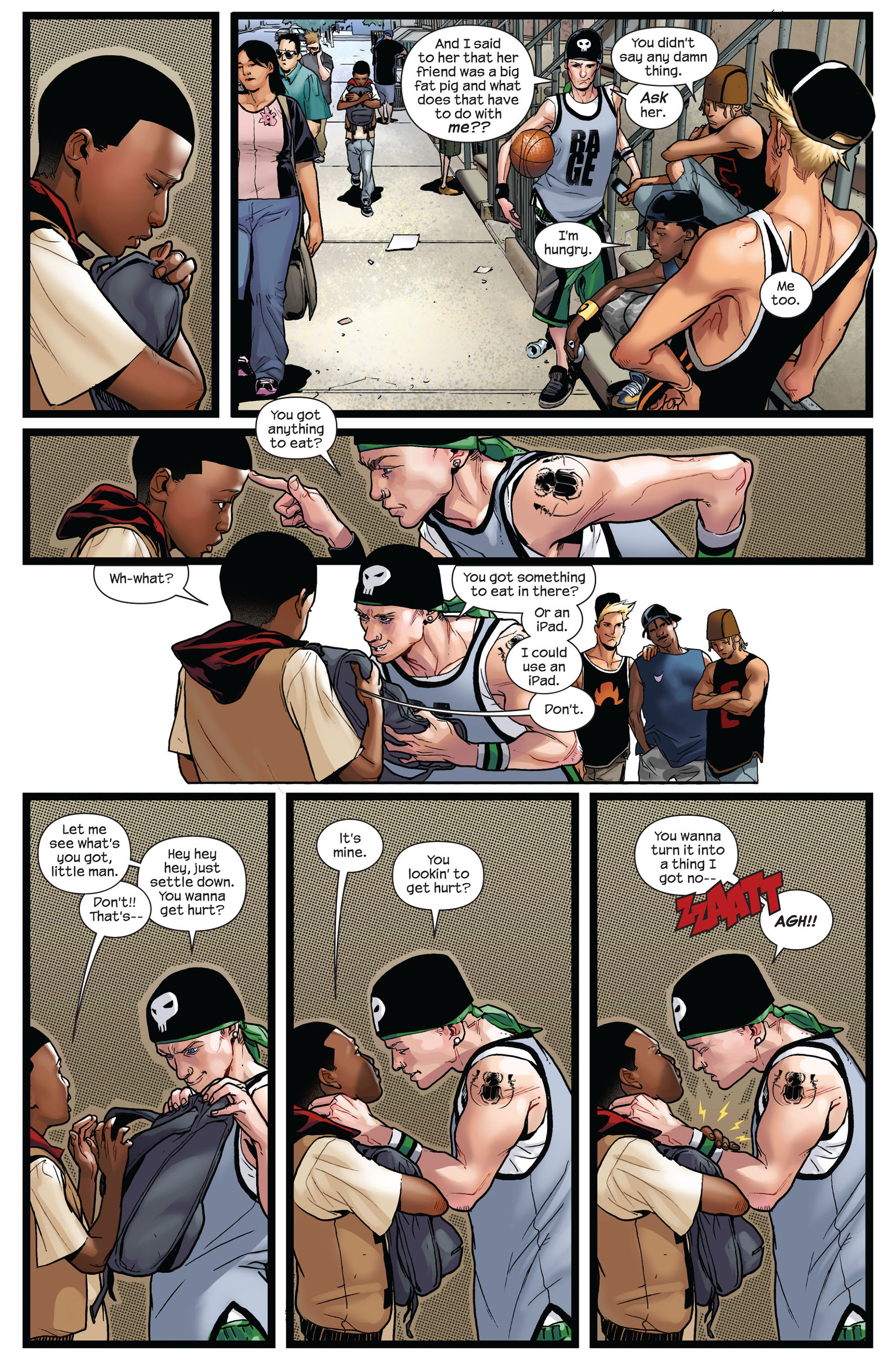 Read online Ultimate Comics Spider-Man (2011) comic -  Issue #2 - 5