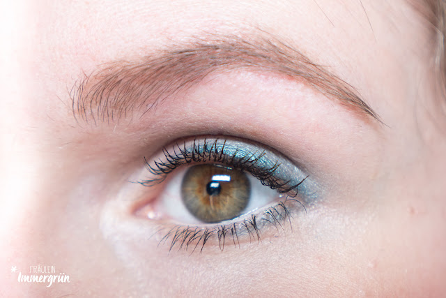 Alverde Duo-Augenbrauenpuder Light Cashmere und Mocca Brown