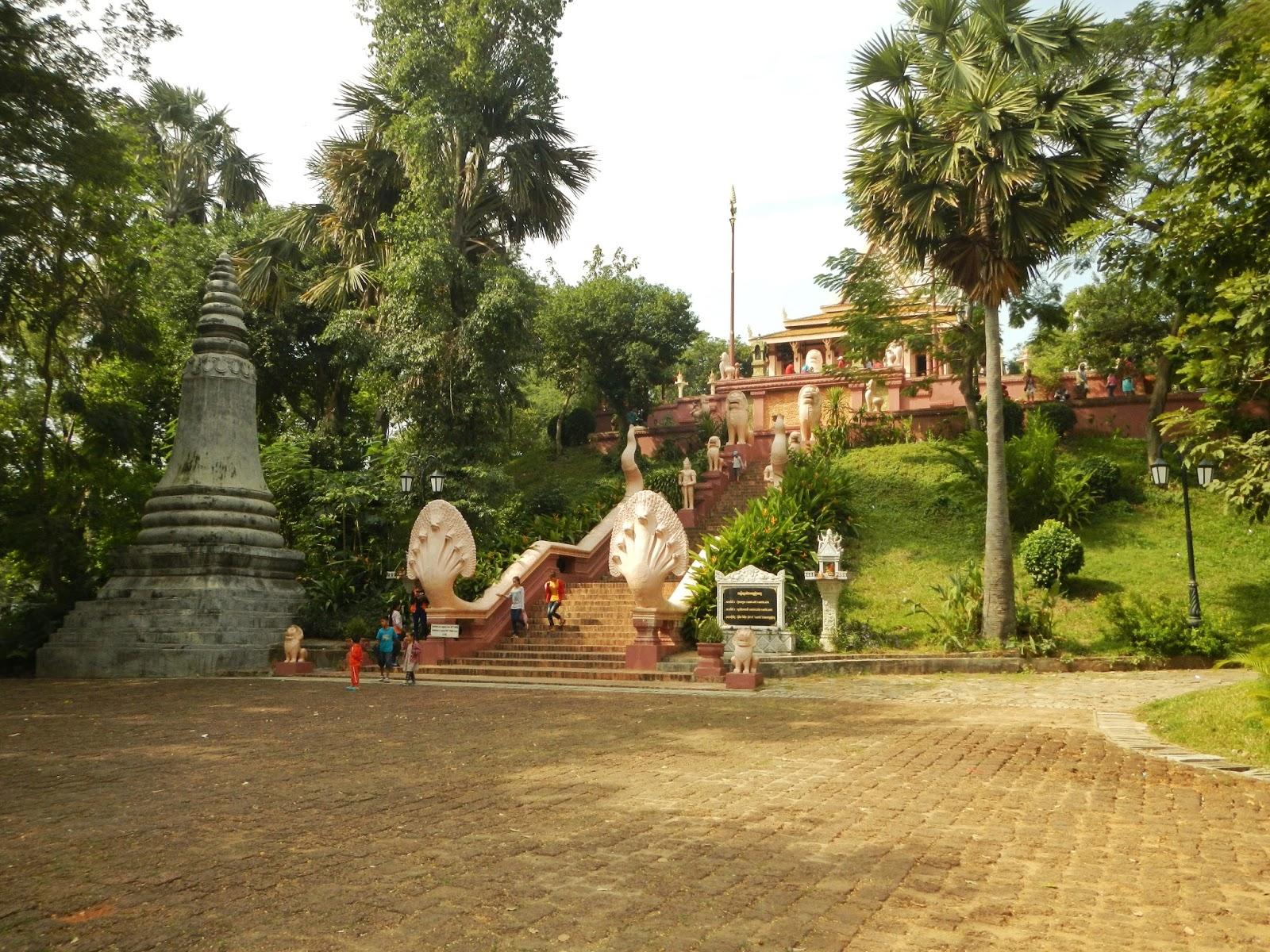 Wat Phnom, Cambodia