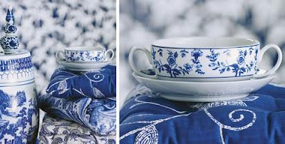 7 Azul & Branco