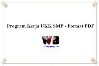 Program Kerja UKK SMP - Format PDF
