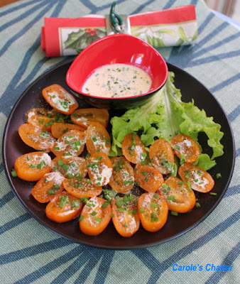 Carole's Chatter: Sometimes the unexpectedly simple is super – Tomatoes, cream & chives