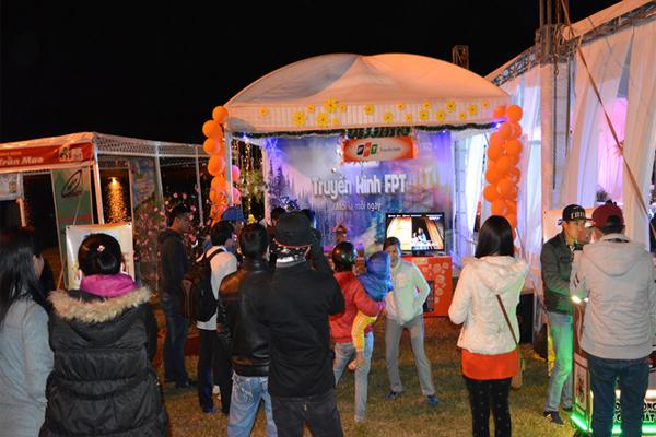 Quảng Bá Truyền Hình FPT Tại Lễ Hội Festival Hoa Đà Lạt 2