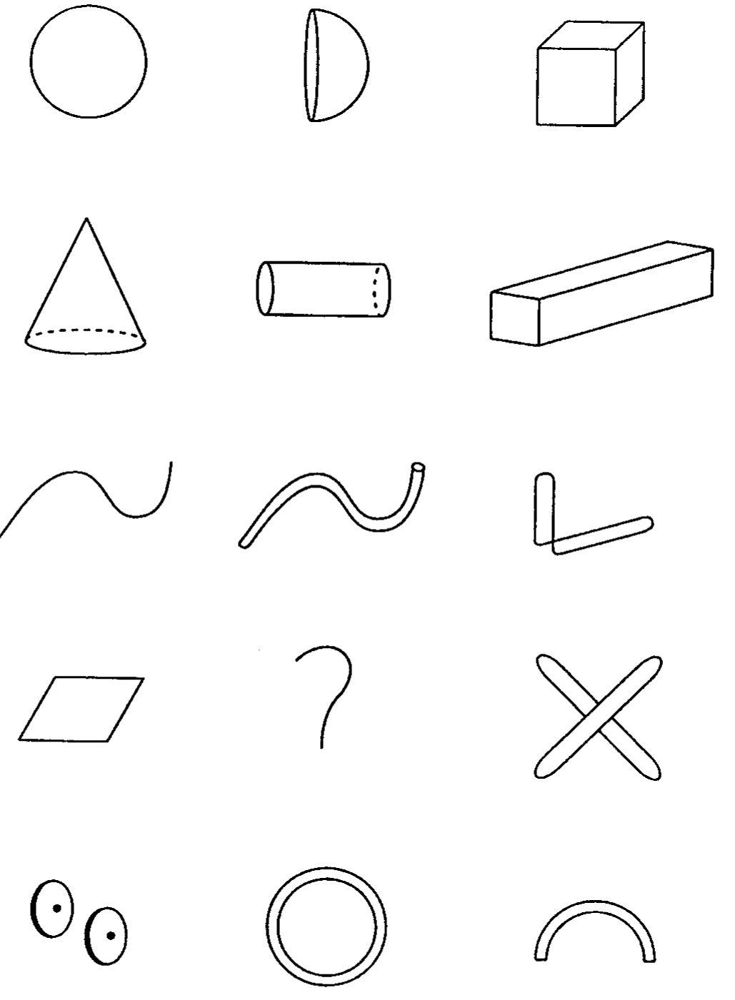 180921 charles eastman new directions in design cognition studies Michigan Police Vehicle Evaluation he had them memorize shapes such as those shown in figure three he then asked them to make interesting positions in their heads of the memorized shapes