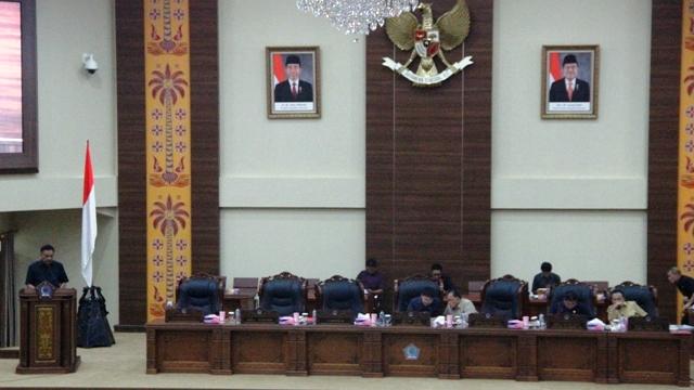 DPRD Sulut Paripurnakan Penutup dan Pembukaan Masa Sidang II-III serta Pemandangan Umum Fraksi-Fraksi 2018