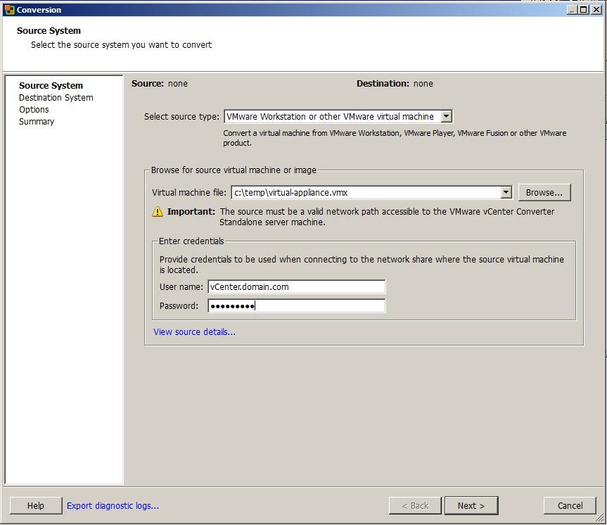 HypervisorsRUS: ovftools, VMware Converter & downgrade ESX5