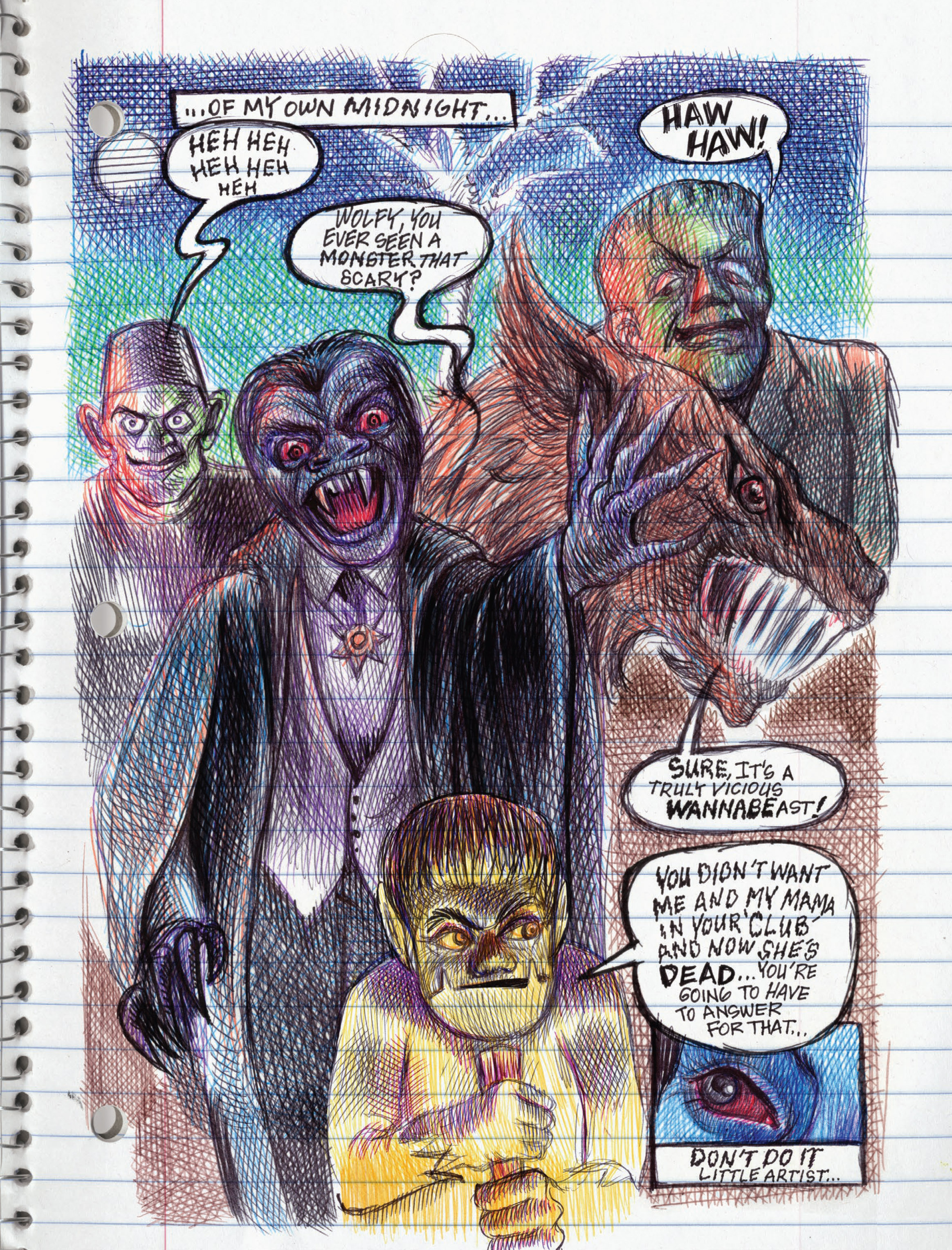 Read online My Favorite Thing is Monsters comic -  Issue #1.5 - 189