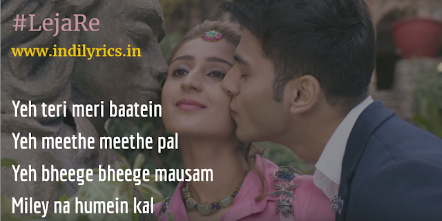 Leja Re | Dhvani Bhanushali | Quotes | Lyrics | Pics