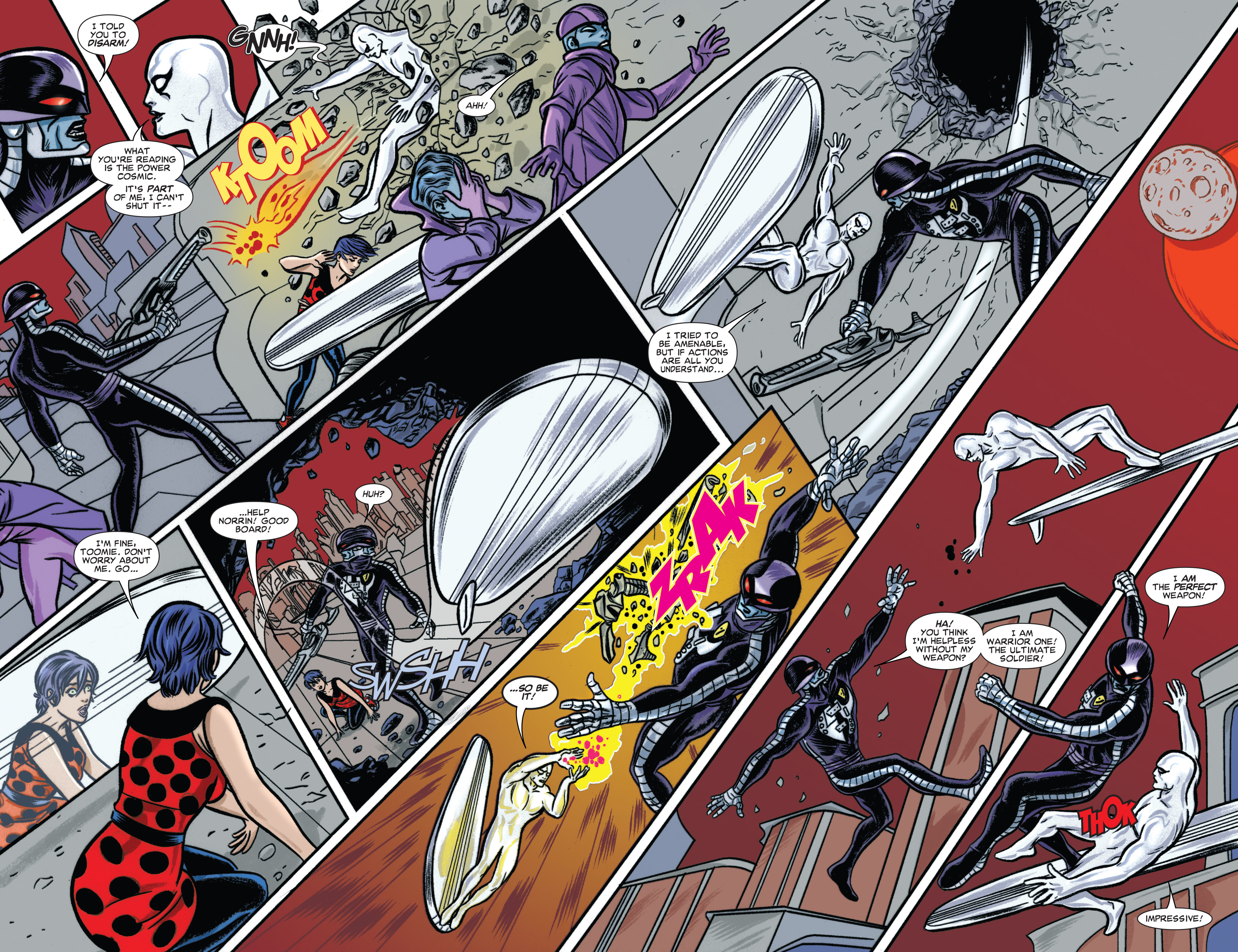 Read online Silver Surfer (2014) comic -  Issue #6 - 14