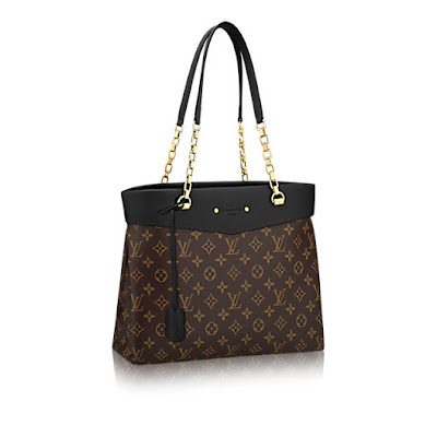 (Length x Height x Width) - Monogram canvas and calf leather ef2d73a095f60
