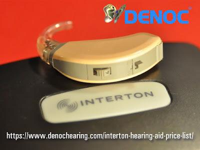 interton hearing aid price list