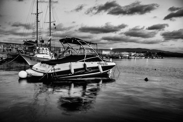 пристанището в китен