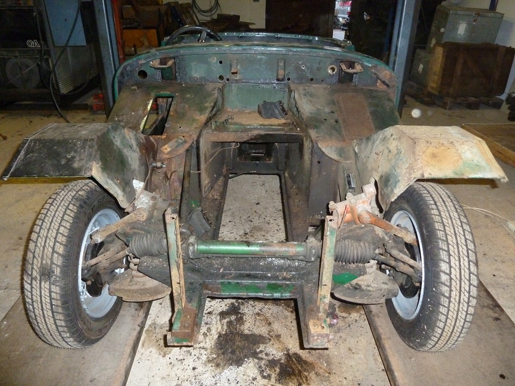 MG Midget 1965 Restoration