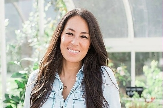 Joanna Gaines denim on denim