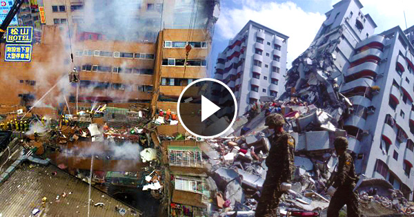 Magnitude 6.4 Earthquake Hits Taiwan! Here's the latest update.