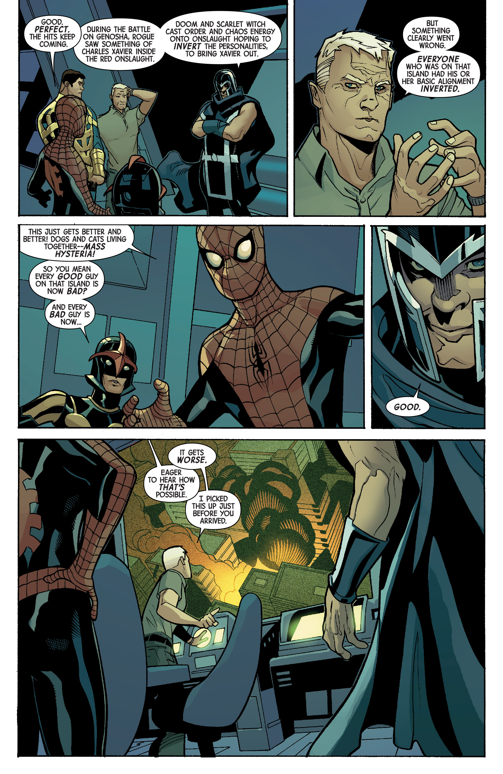 Read online Avengers & X-Men: AXIS comic -  Issue #5 - 14