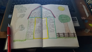 Bullet Journal - Outside Projects Layout - Katrina Roets