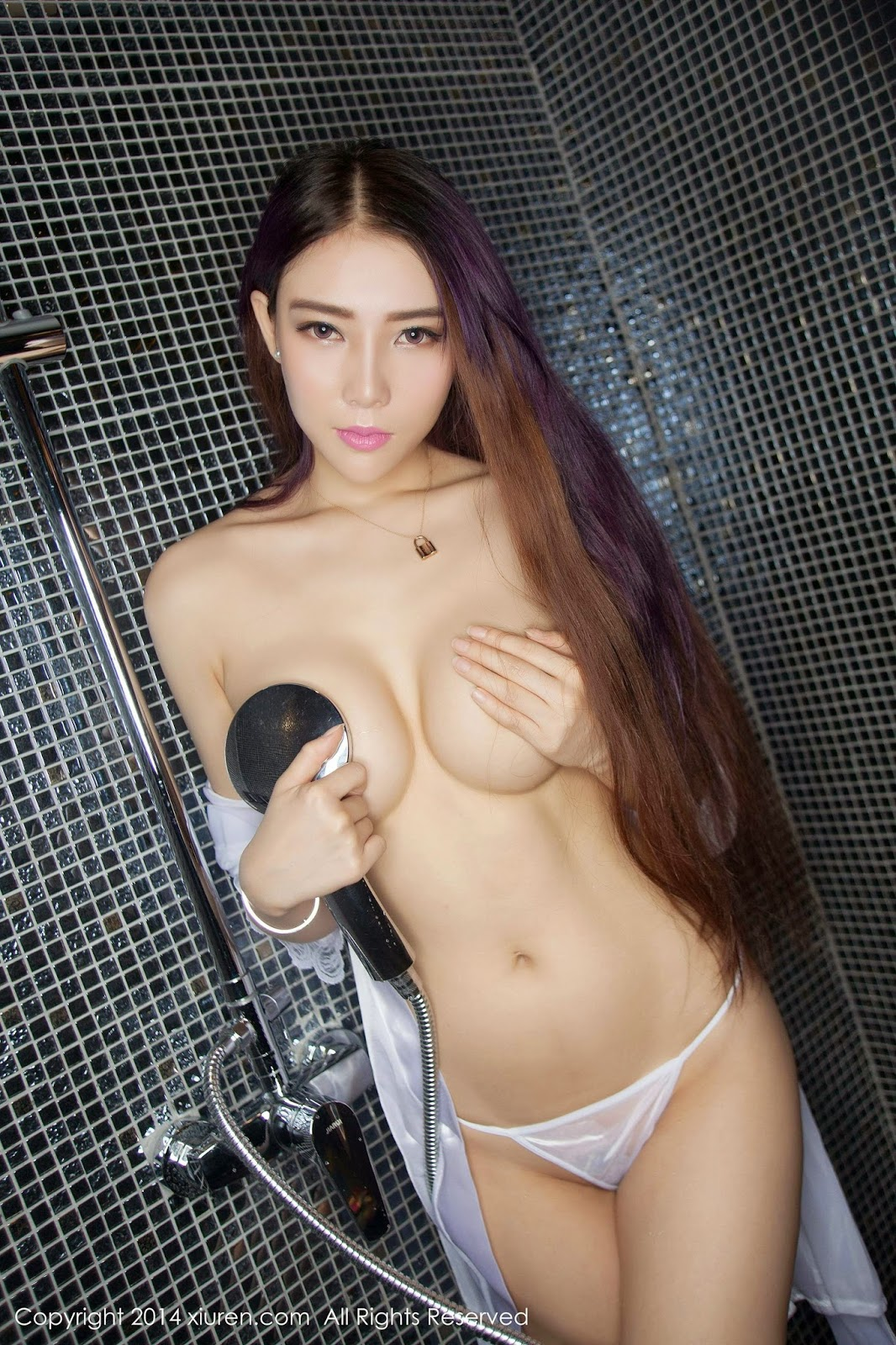 Vanessa Meng Na See Through Wet Panties  Gravure Girls Idols-5549