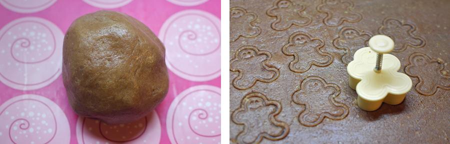 Rezept Lebkuchen Kekse für Hunde Hundekekse selbst backen