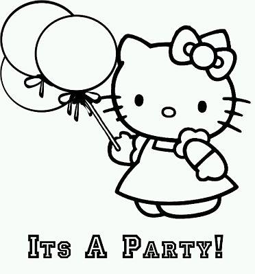 Imagenes De Hello Kitty Para Pintar