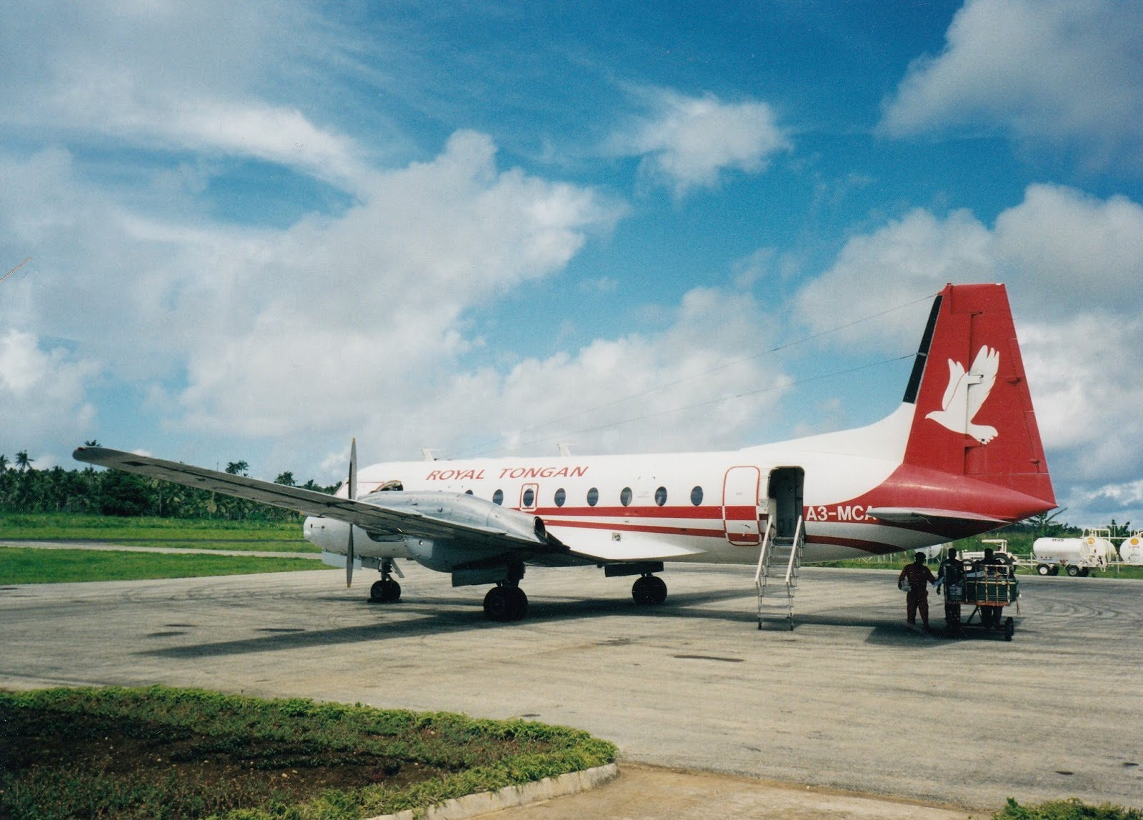 Tonga travel involves some light aircraft hopping between the islands