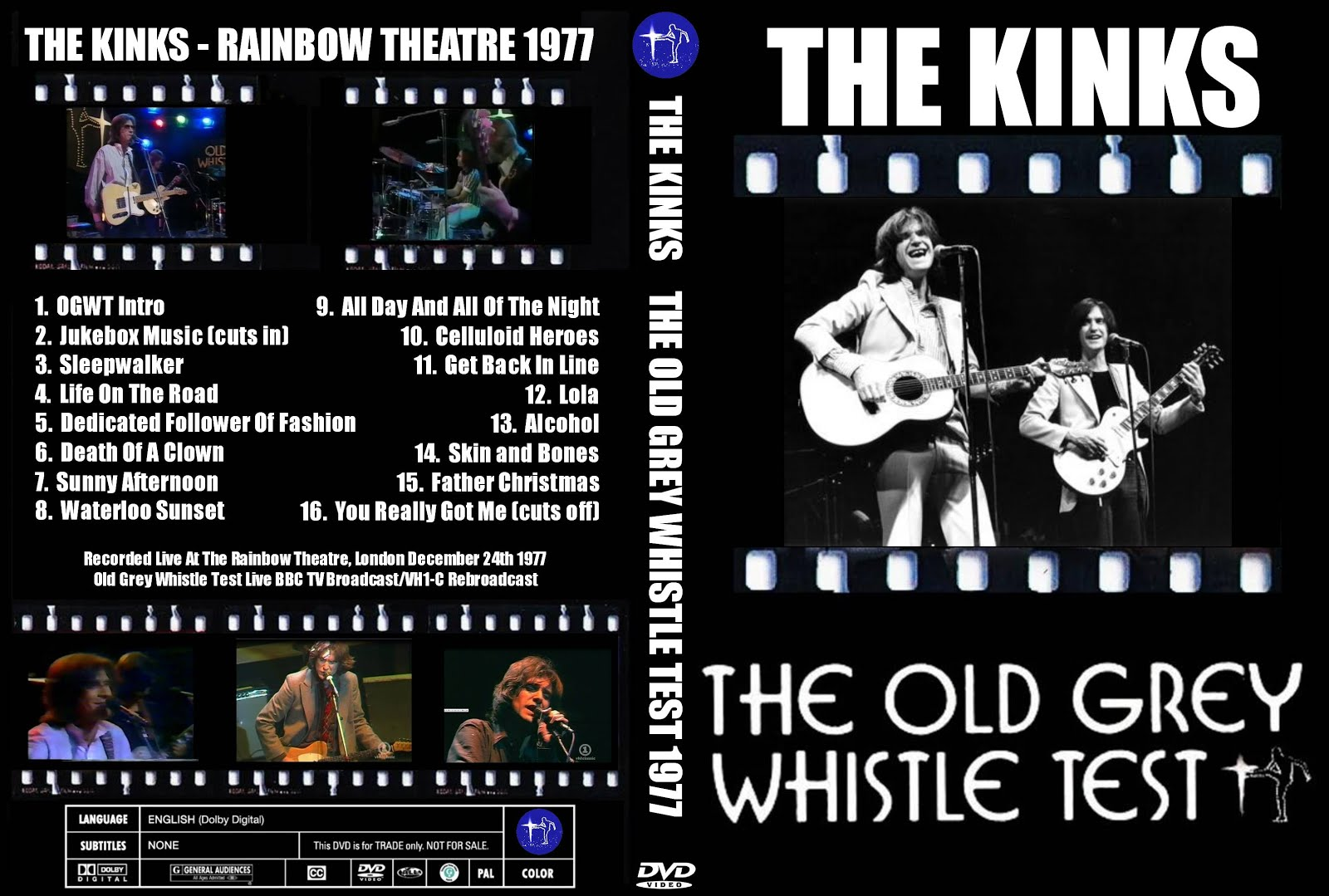 Father Christmas The Kinks.T U B E The Kinks 1977 12 24 London Uk Dvdfull Pro Shot
