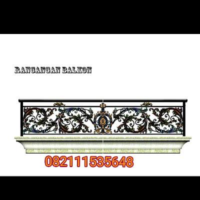 design balkon mewah adalah balkon klasik