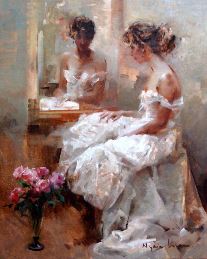 Масляная живопись. Nydia Lozano 7