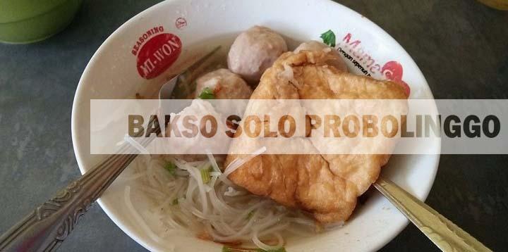 Bakso Solo Belakang Plaza Probolinggo