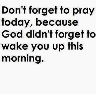 Prayers change things...